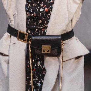 Gv3 givenchy bum bag and belt